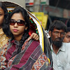 Unlike India, the streets of Old Dhaka are dominated by male dominated activity.  It's rare that you'll see women.