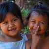 These adorable girls made my day with their lovely smiles.  I met while wandering on the outskirts of Siem Reap, Cambodia.