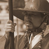 """<a href=""""http://nomadicsamuel.com"""">http://nomadicsamuel.com</a> : This Korean man stands tall and stoic as he prepares to conduct a changing of the Guard ceremony in front of a large audience at Gyeongbokgung Palace in Seoul, South Korea."""