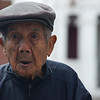 An elderly man with a candid expression - Luang Prabang.