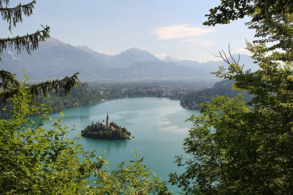 Gorgeous views from Bled