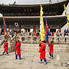 Changing of Guard - Gyeongbokgung, Seoul, South Korea