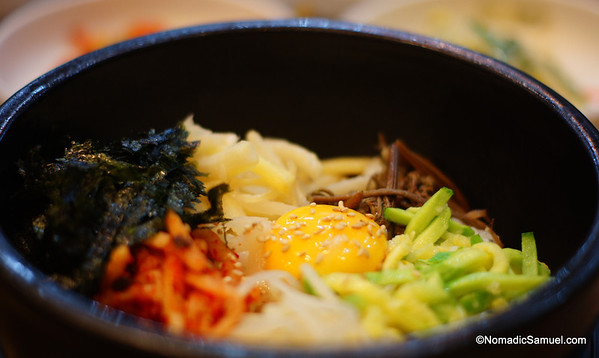 Korean signature dish - Bibimbap