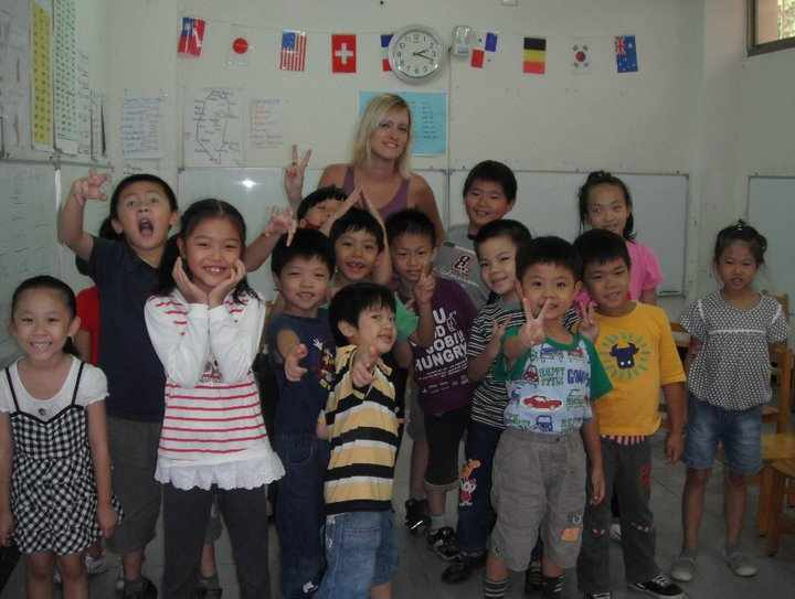Students in Taiwan
