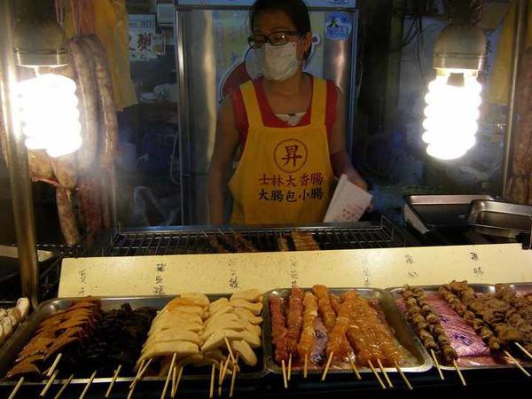 Market vendor, Taiwan
