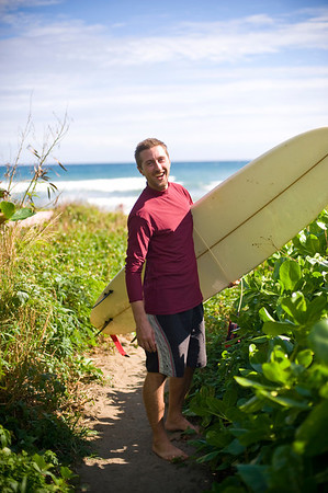 Matt Gibson surfing in Taiwan