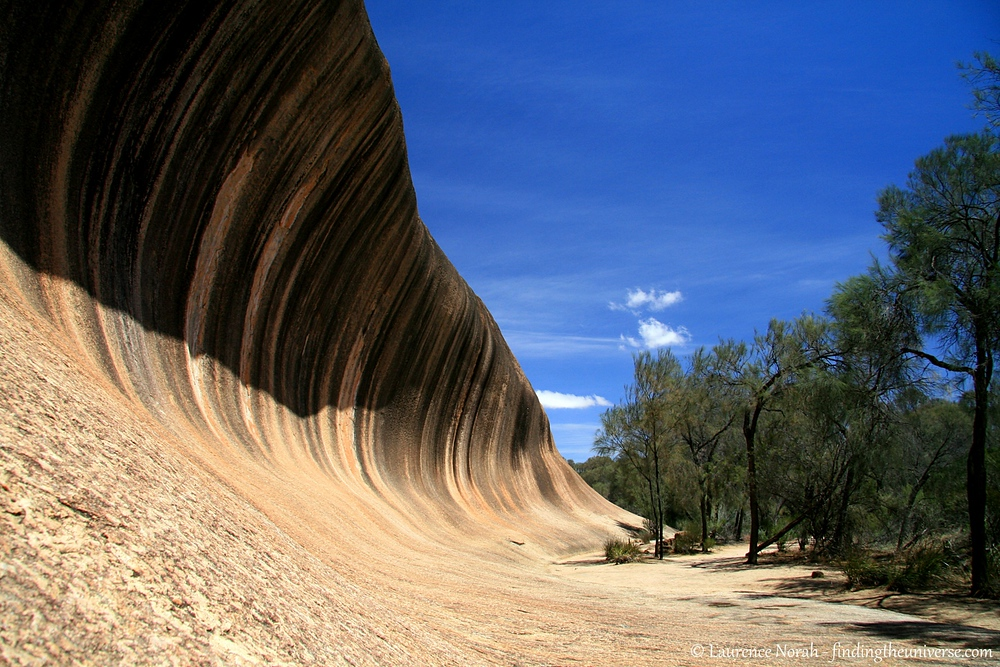 I have to admit, I was a bit of a fan of the outback. This is the wave rock, a giant rock formation that looks like a frozen wave. There is all sorts of science behind its formation, but really, what you'll want to do when you visit is pretend you're surfing it. Far more fun than reading about geology.