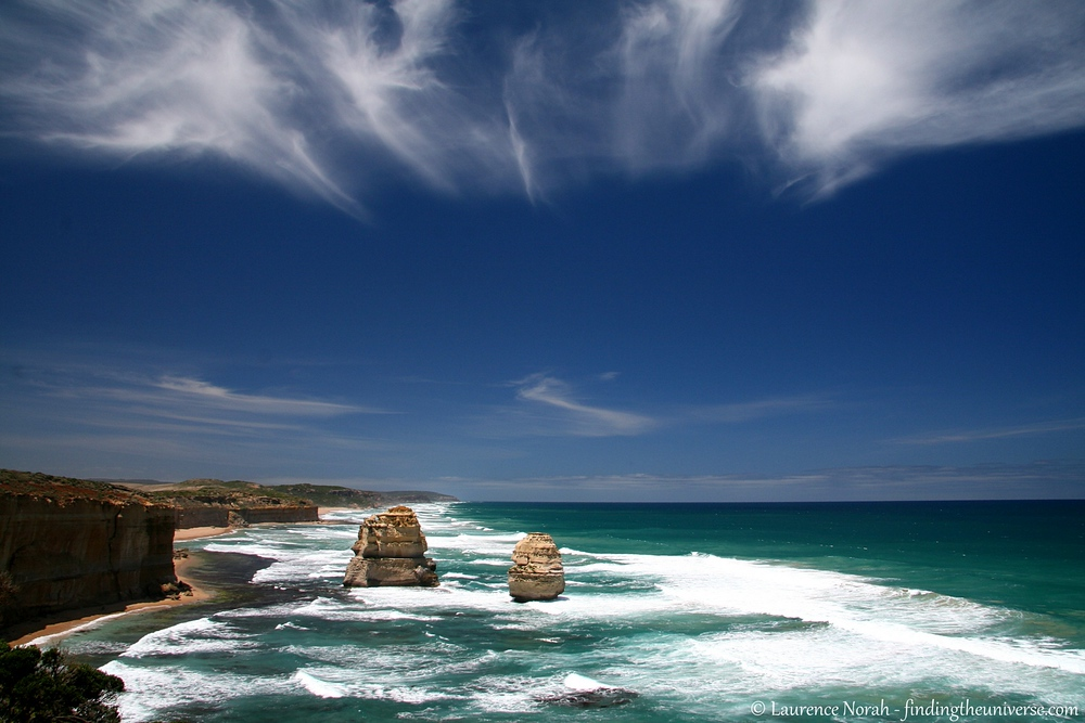 Australia is home to one of the worlds greatest road trips, along the Great Ocean Road in the state of Victoria. These rock outcrops are part of the Twelve Apostles, which is arguably the highlight of the road trip.