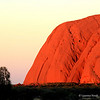 "© Laurence Norah - findingtheuniverse.com : This is Uluru at sunset. It's a bloody long way from anywhere, and it's ""just a rock""... but wow. What a rock!"