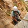 Backpacking National Zion Park part of Utah's Mighty 5.