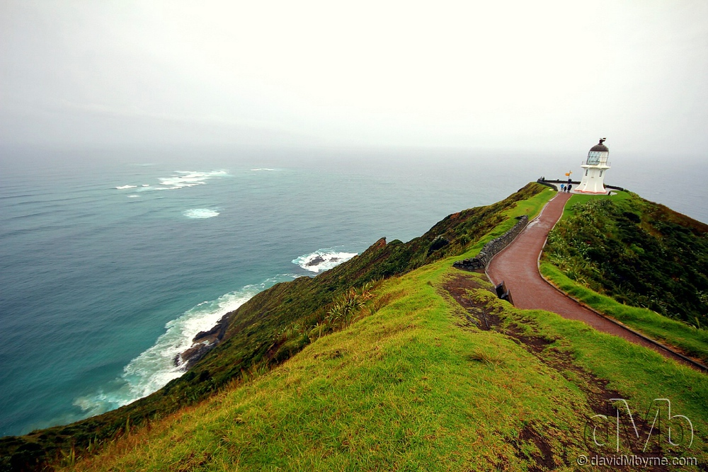 The end-of-the-world feeling at Cape Reinga