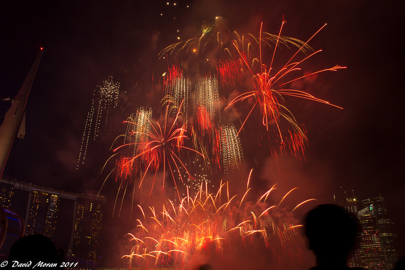 Fireworks at Marina Bay