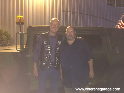 Governor Bruce Rauner at Midwest BBQ for the Brave