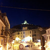 La Rocca from St. Michael's Church and Piazza
