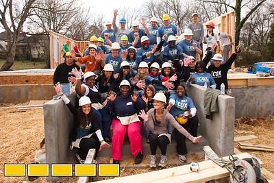 2012 Cox Habitat Build