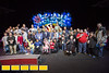 Suwanee Mayor Jimmy Burnette and families of Suwanee.  Gas South invites hundreds of special needs families to an exclusive pre-show event at the Ringling Brothers Circus at the Infinate Energy Center on Friday, Feb 19, 2016.  (Jenni Girtman/ Atlanta Event Photography)