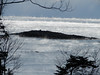 Sea Smoke off ICe Box Bend, Small Point. Photo by John Chandler