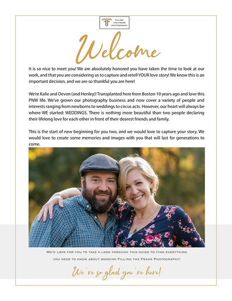 Wedding Welcome Guide (for real!) quote 3