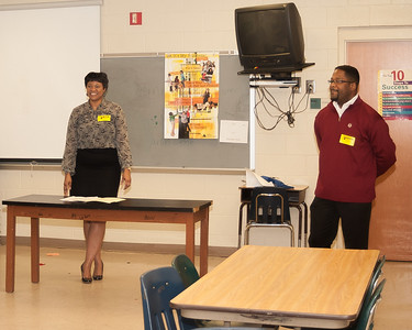 2012 Mauldin Middle Mentoring with Ms. Xandra Johnson