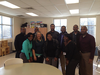 2013 Kappa and GE AAF at Sterling Community Center Afterschool Empowerment-Black History Month