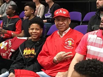 2018 Kappa Knights at Furman Basketball Game