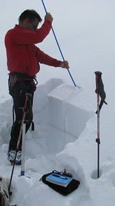 Evaluating the snow pack