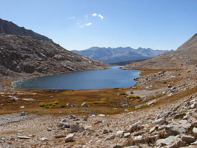 Guitar Lake, our basecamp for Mount Whitney