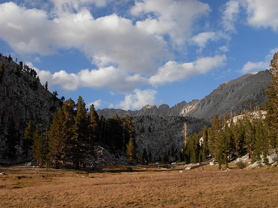 The upper Rock Creek area as we pass into Sequoia National Park.