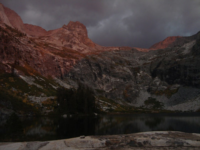 Hamilton Lakes at sunset