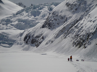Skiing out the Mer de Glace