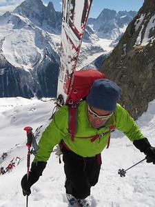 Climbing a col