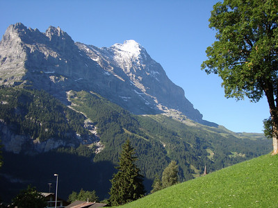 A view of the Eiger from Grindelwald