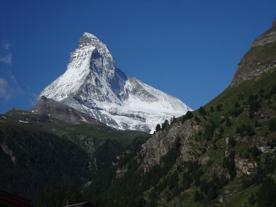 The Matterhorn. Probably the most recognizable mountain in the world.