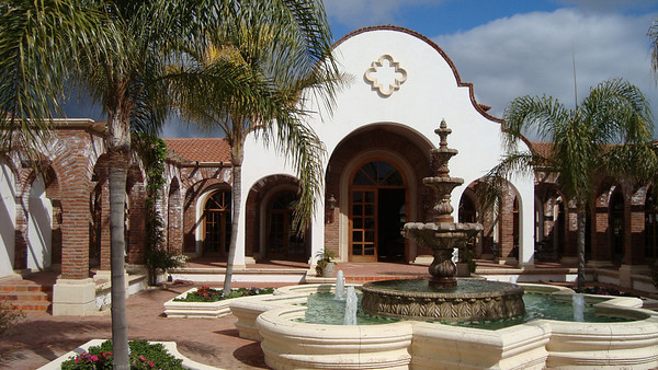 The Adobe Guadalupe Winery and Inn where we begin the adventure
