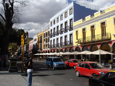 Puebla, one of Mexico's more cosmopolitan cities