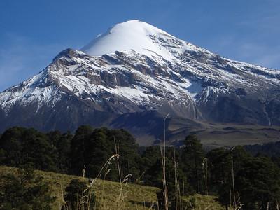 Pico de Orizaba, N America's 3rd highest peak