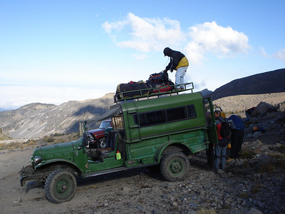 The 4WD trip to Piedra Grande, our basecamp on Orizaba