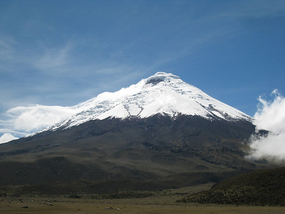 A view of Cotopaxi, one of the most beautiful peaks in the world