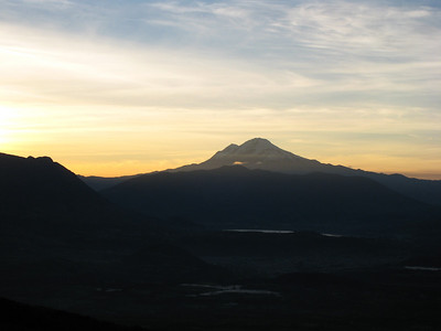 A  view of Cayambe