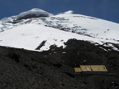The Jose Ribas hut at Cotopaxi
