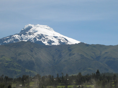 Another view of Cayambe, our first big objective