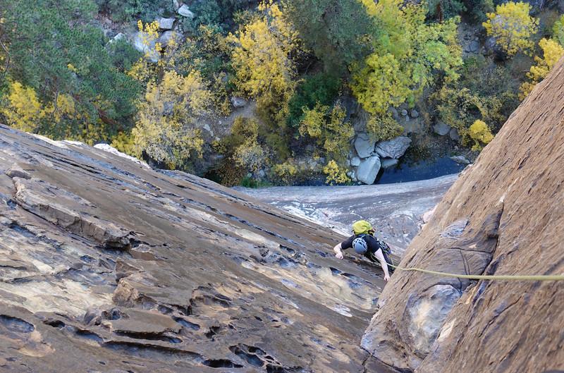 Autumn canyon color