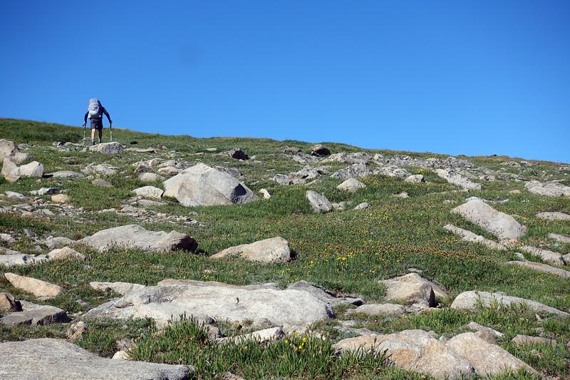 Plateau walking