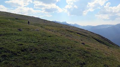 Eric on the plateau