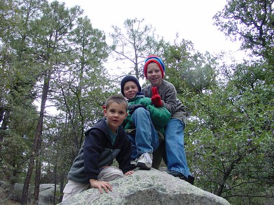 Spring Campout -- Upper Wolf Creek -- March 2001
