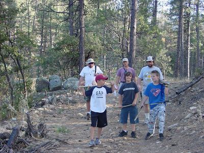 Spring Campout at Granite Basin -- March 2004