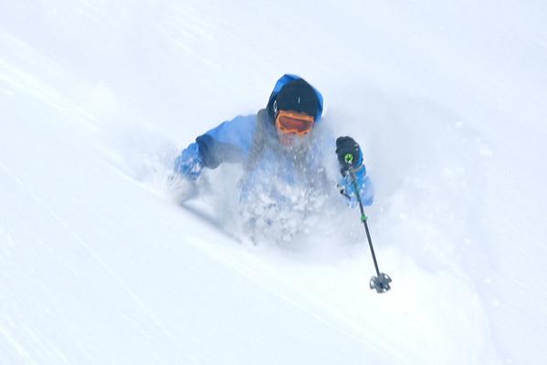 Lake Louise Ski Touring Dec 2012