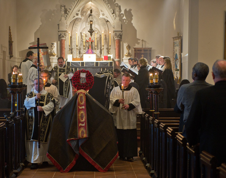 Special Mass at Church of the Resurrection in New York