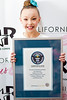 The record for the most consecutive pirouettes was achieved by Sophia Lucia (USA) completing 55 pirouettes at the San Diego Dance Center in Poway, California, USA on 30 March 2013. <br /> <br /> All rights reserved Guinness World Records