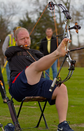 The farthest accurate shot in archery under World Archery conditions is 283.47 m (930.04 ft), achieved by Matt Stutzman (USA) at the TPC Craig Ranch, McKinney, Texas, USA on 9 December 2015.